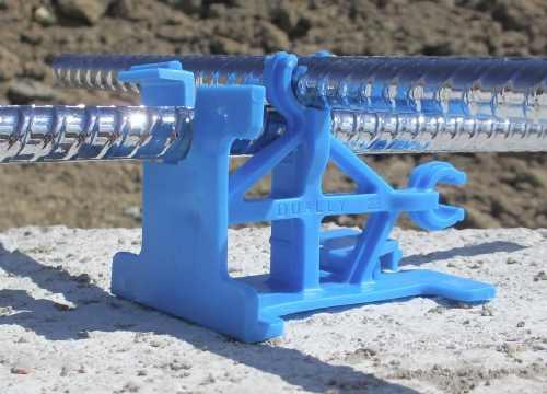 LTM Concrete Dually Rebar Support