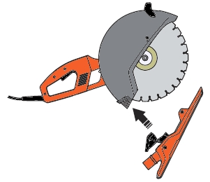 Husqvarna K 3000 Vac Attachment