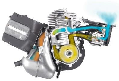 Husqvarna K970 X-Torq Engine