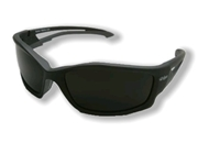 "Edge ""Kazbek"" Eyewear Black Frame / Polarized Smoke Lens"