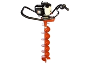 "General Equipment One-Man Hole Digger, 6"" Auger"