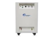 California Air Tools 1 Hp 8 Gallon LF Series Air Dryer Soundproof Cabinet Air Compressor