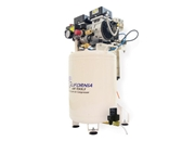 California Air Tools 1 Hp 10 Gallon LF Series Oil-Free Air Dryer Air Compressor w/ Drain