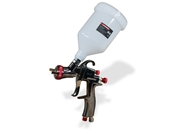 AEROPRO USA R500 LVLP Gravity Feed Air Spray Gun, 1.5 mm Nozzle