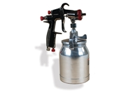 AEROPRO USA R200S LVLP Suction Feed Air Spray Gun, 1.5 mm