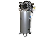 California Air Tools 4 Hp 60 Gallon Oil-Free Air Dryer Air Compressor w/ Drain