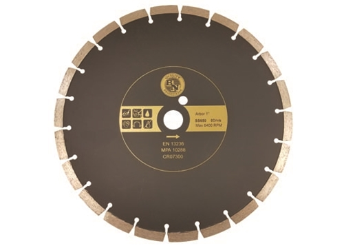 "9"" BN Products SS650 Cold Pressed Diamond Blade"