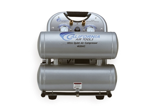 California Air Tools 2 Hp 4.6 Gallon 220V/60Hz Oil-Free Electric Air Compressor