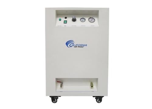California Air Tools 1 Hp 8 Gallon LF Series Air Dryer Soundproof Cabinet Air Compressor w/ Drain