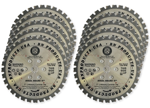 BN Products Replacement Blade For The BNCE-50 Cutting Edge Saw, 10-Pack